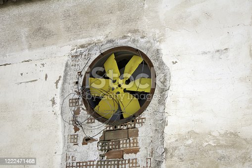 536680742 istock photo Industrial fan 1222471468