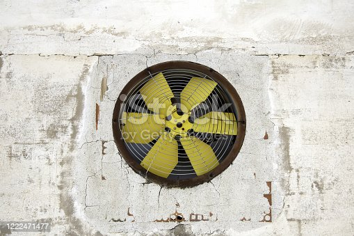 536680742 istock photo Industrial fan 1222471477