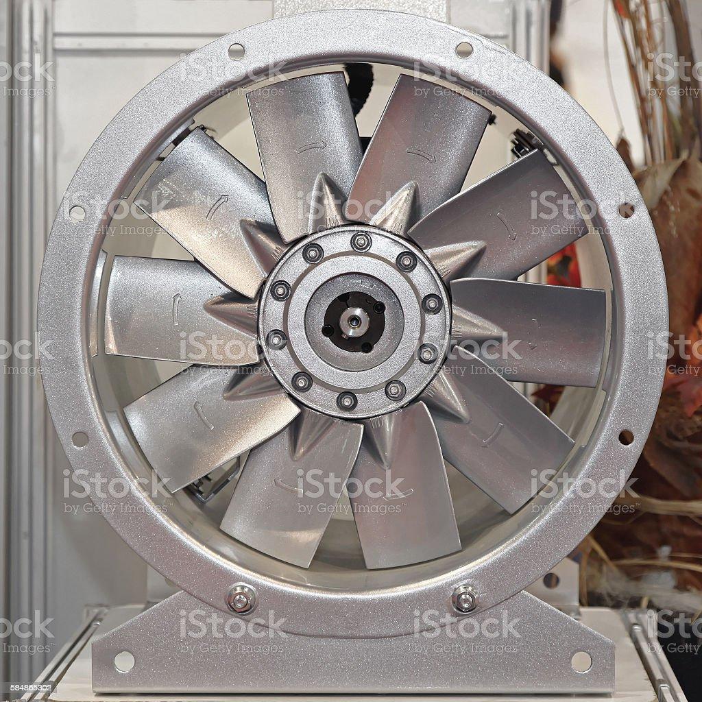 Industrial Fan stock photo