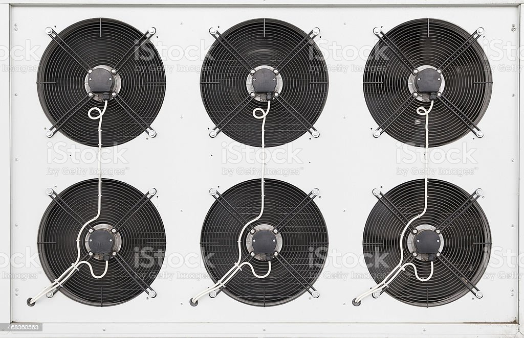 industrial fans royalty-free stock photo