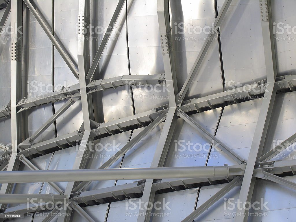 Industrial Framework Background stock photo