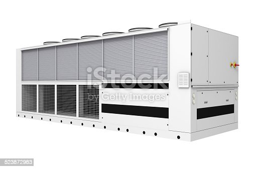 istock Industrial free-cooling chiller 523872983
