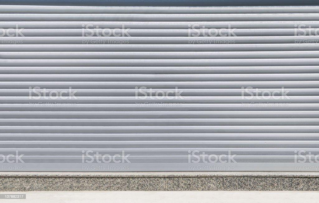 Industrial Garage Door royalty-free stock photo