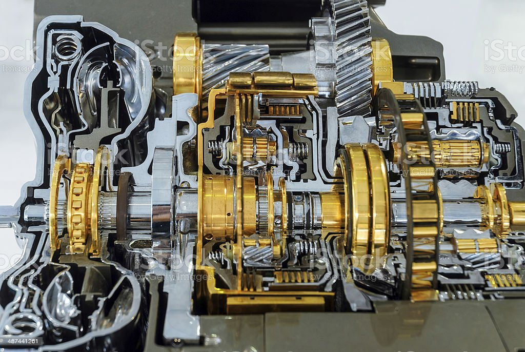 Industrial gearbox Background royalty-free stock photo