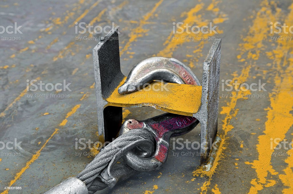 Industrial hook royalty-free stock photo