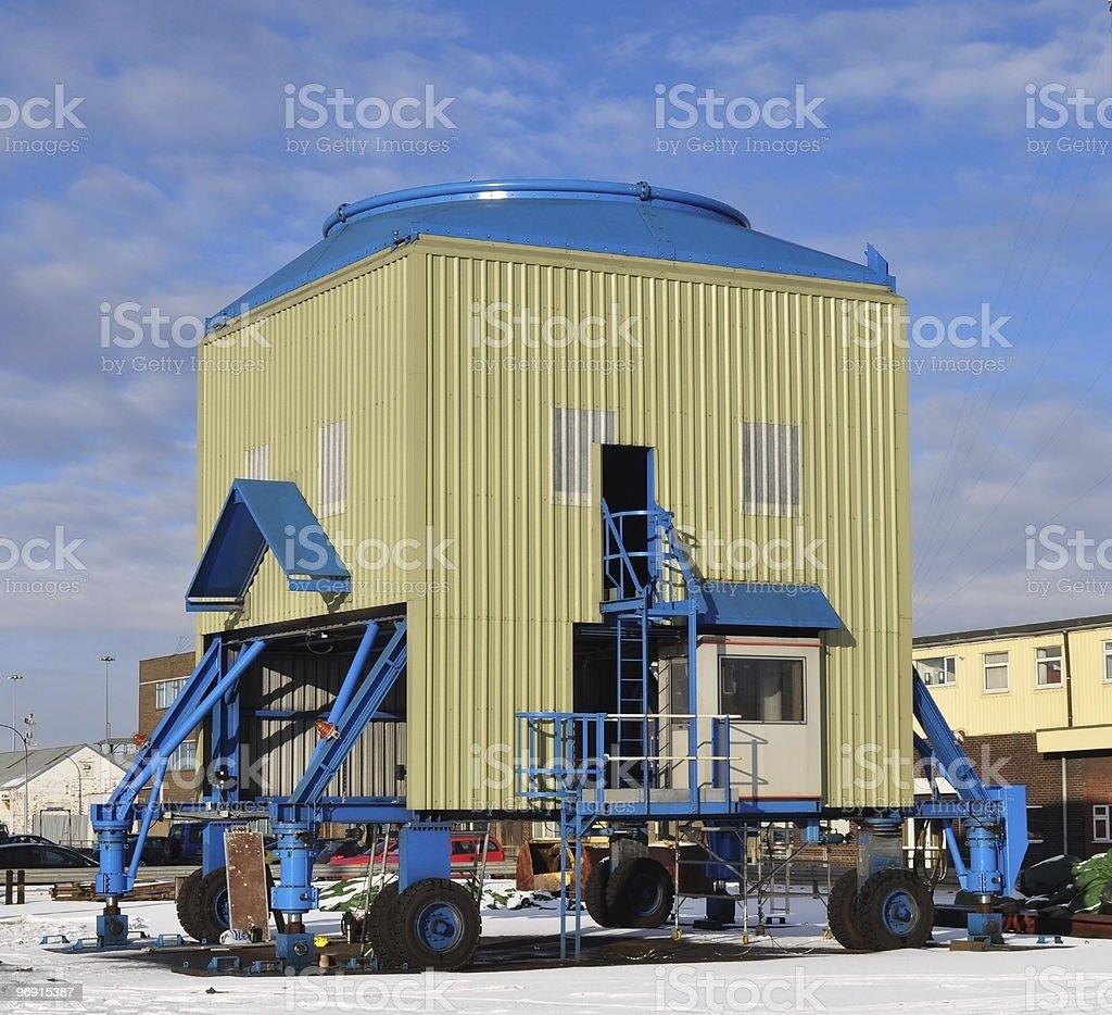 Industrial Hopper Bin royalty-free stock photo