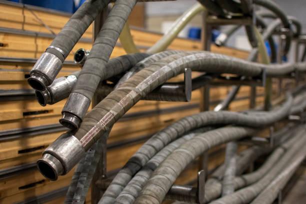 Industriële slangen foto