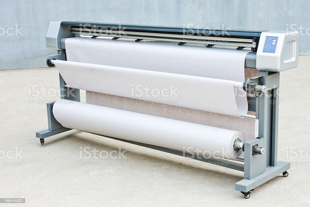 Industrial Inkjet printer royalty-free stock photo