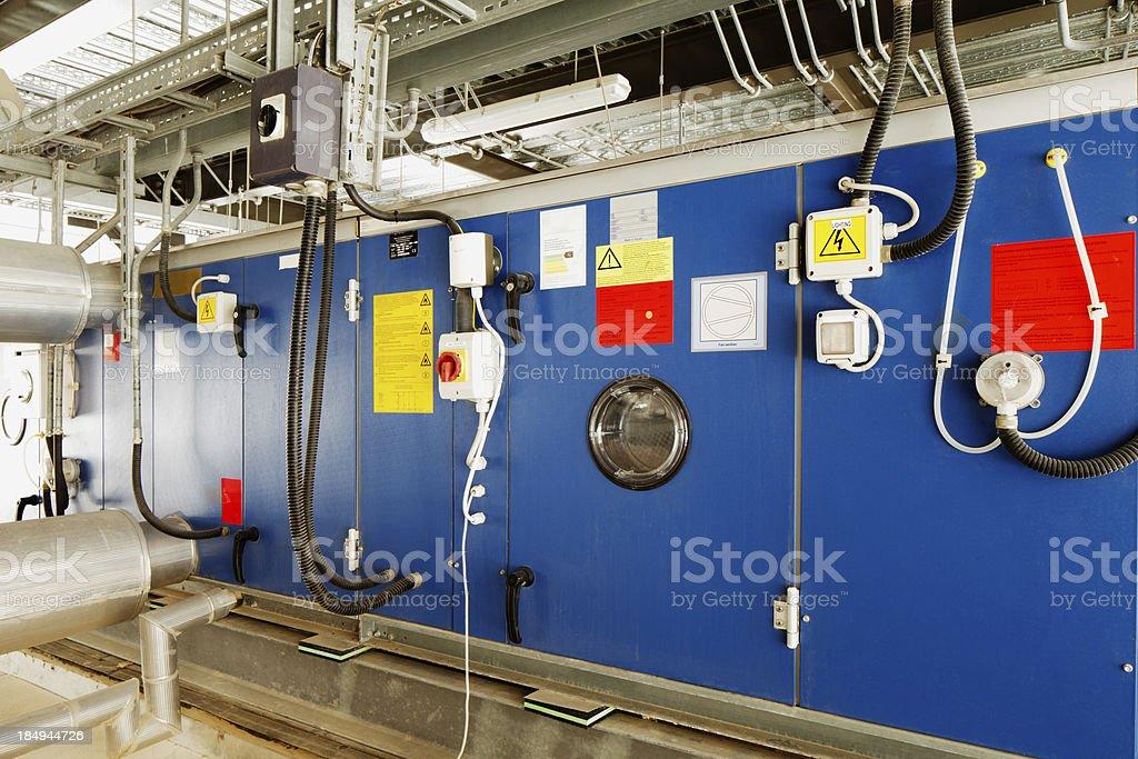 Industrielle Installation Für Die Umwandlung Von Sonnenenergie In ...