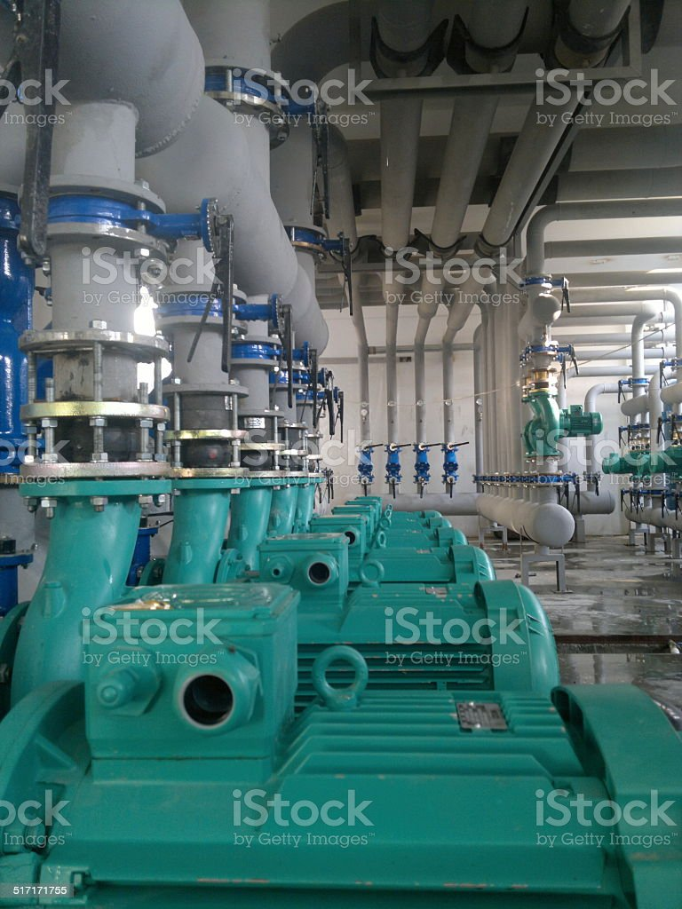 Industrial interior stock photo