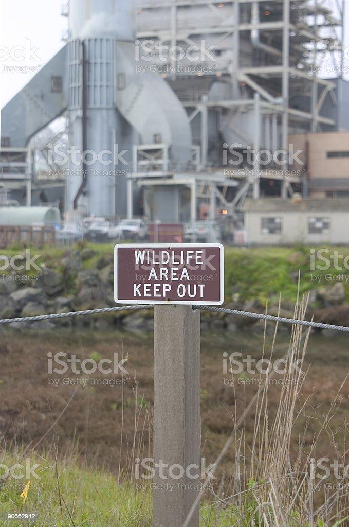 Industrial Irony #2 royalty-free stock photo