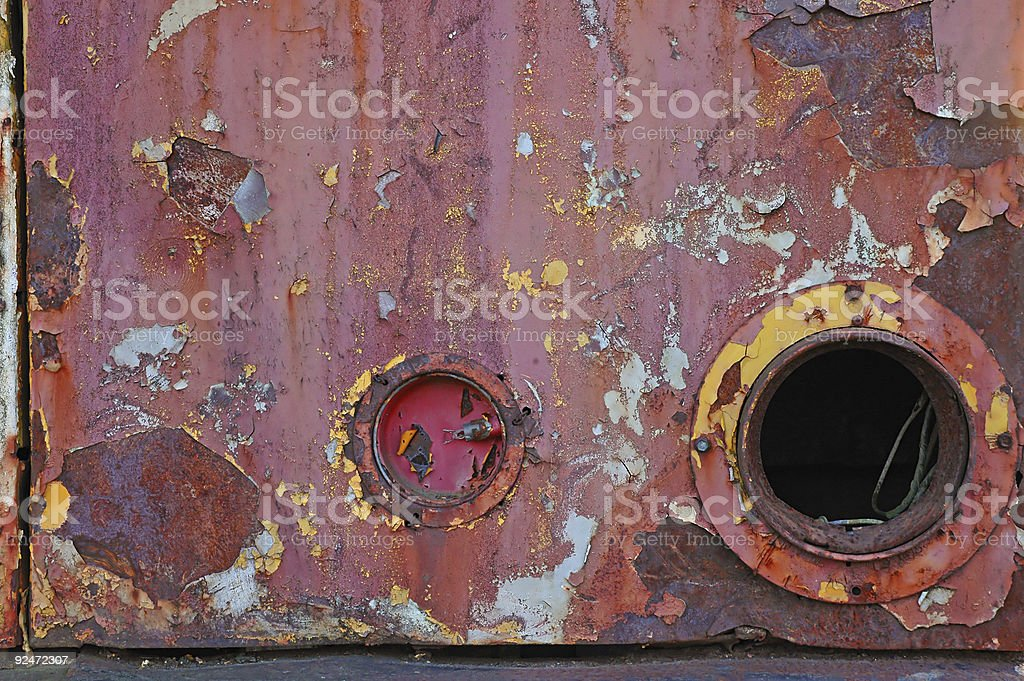 Industrial Junk royalty-free stock photo