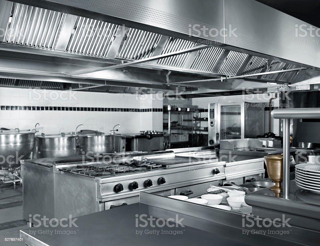 Industrial Kuche Stock Fotografie Und Mehr Bilder Von Arbeitsplatte