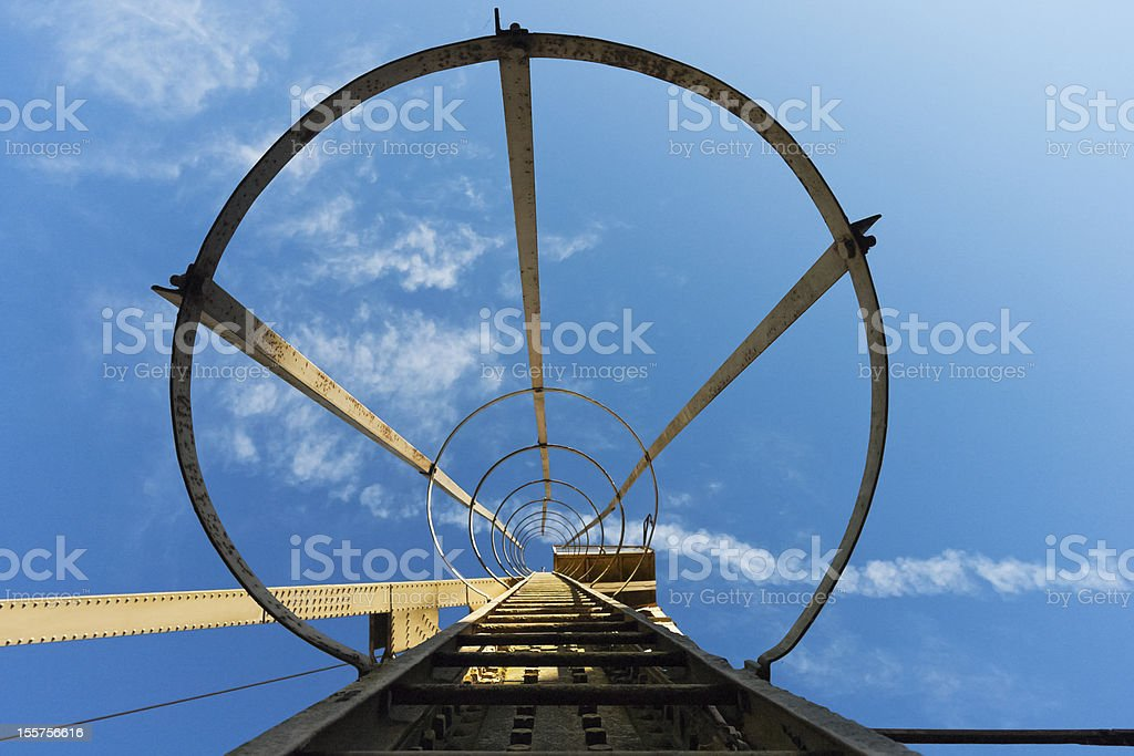 Industrial ladder royalty-free stock photo