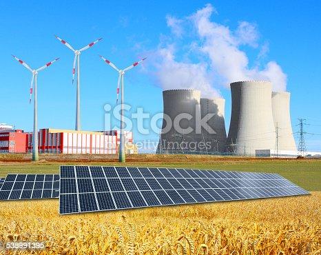 istock Industrial landscape. 538991395