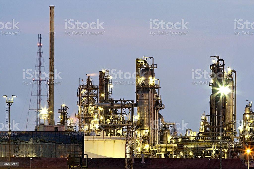 Industrial landscape royalty free stockfoto