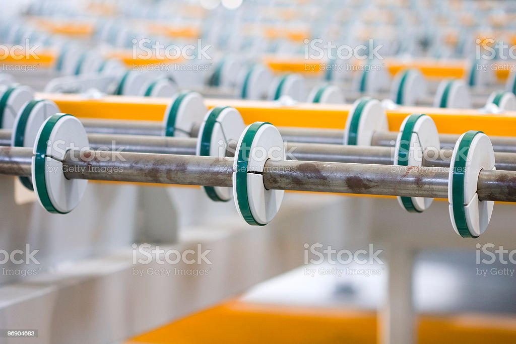 Industrial machine royalty-free stock photo