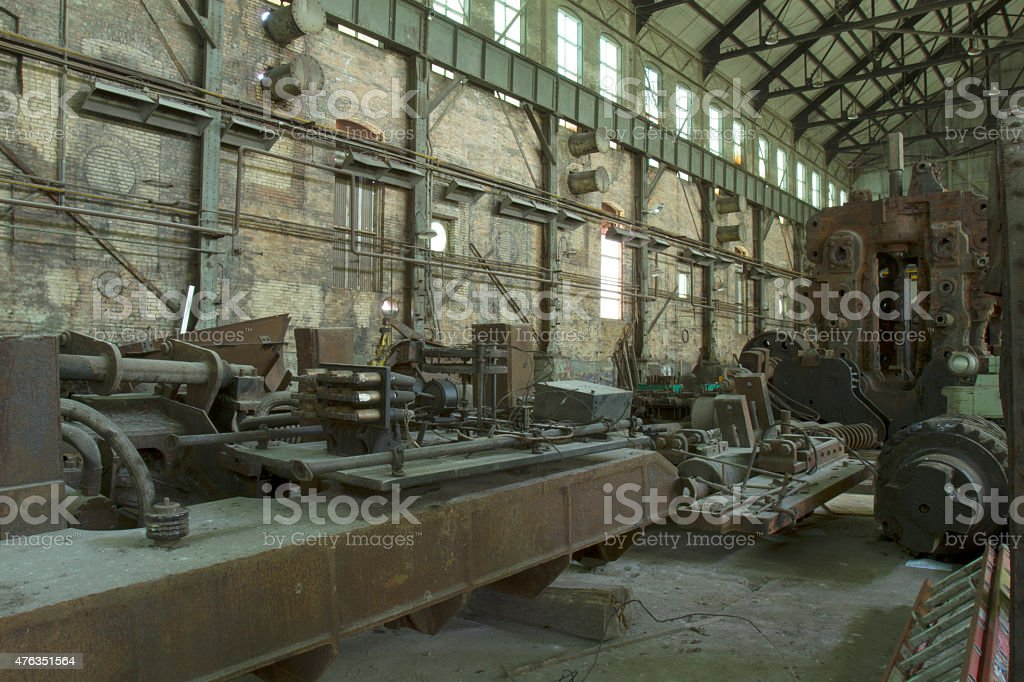 Industrial machinery stock photo