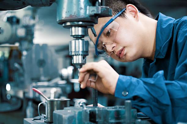 industrial machinist – Foto