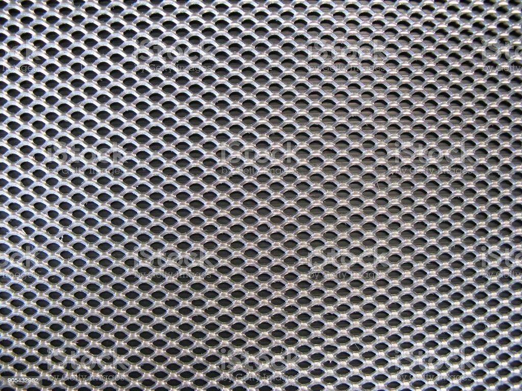 industrial metal grid texture stock photo