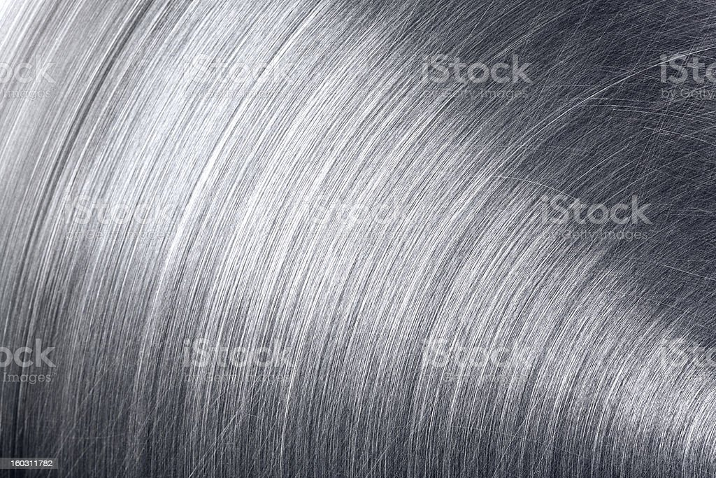 Industrial metal with scratches royalty-free stock photo