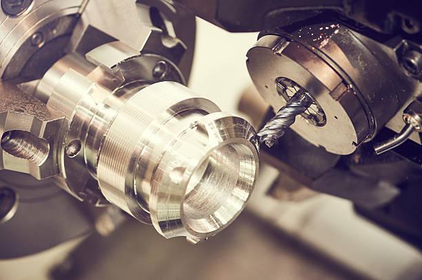 industriel la métallurgie des processus de Lame de fraiseuse - Photo
