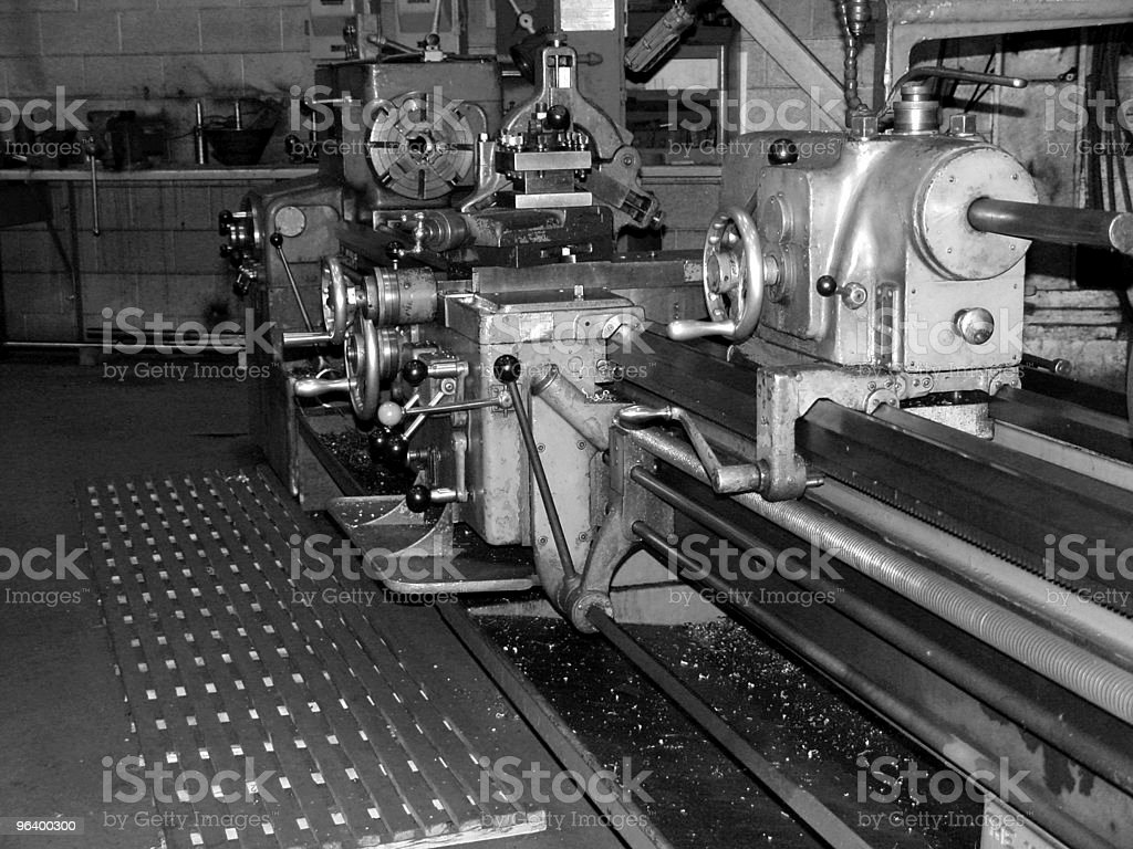 Industrial Milling Equipment - Royalty-free Abstract Stock Photo
