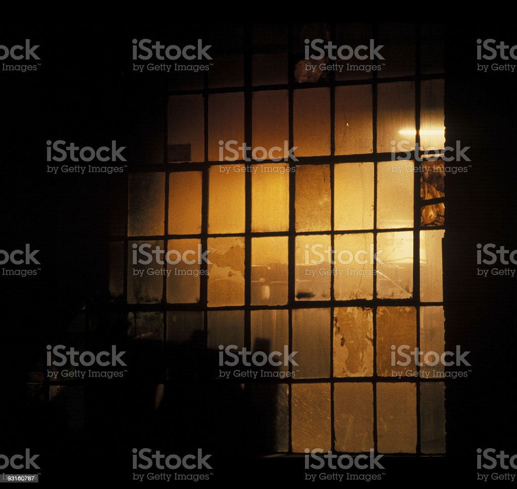 Industrial Night royalty-free stock photo