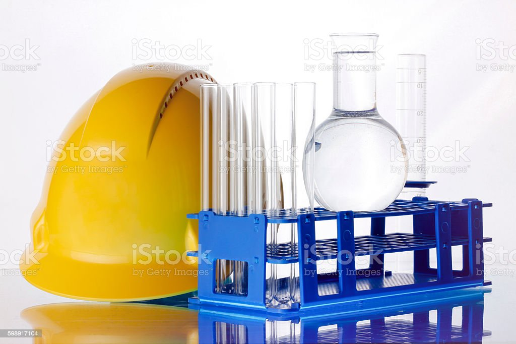 Industrial objects stock photo