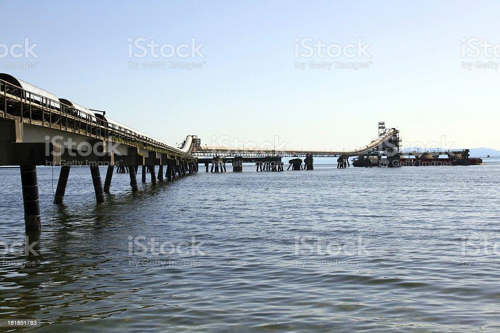 Industrial Ocean stock photo