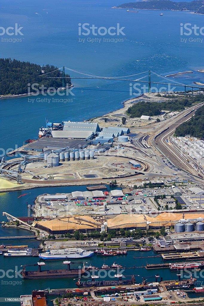 Industrial Park stock photo