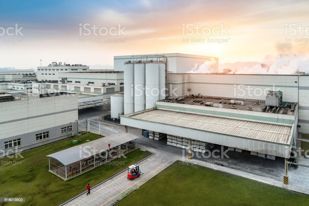 Industrial parks and factories in Chongqing, China