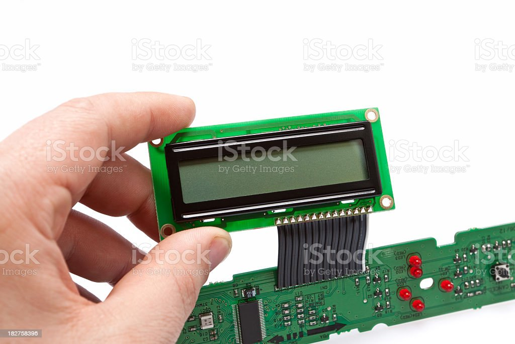 LCD Industrial royalty-free stock photo