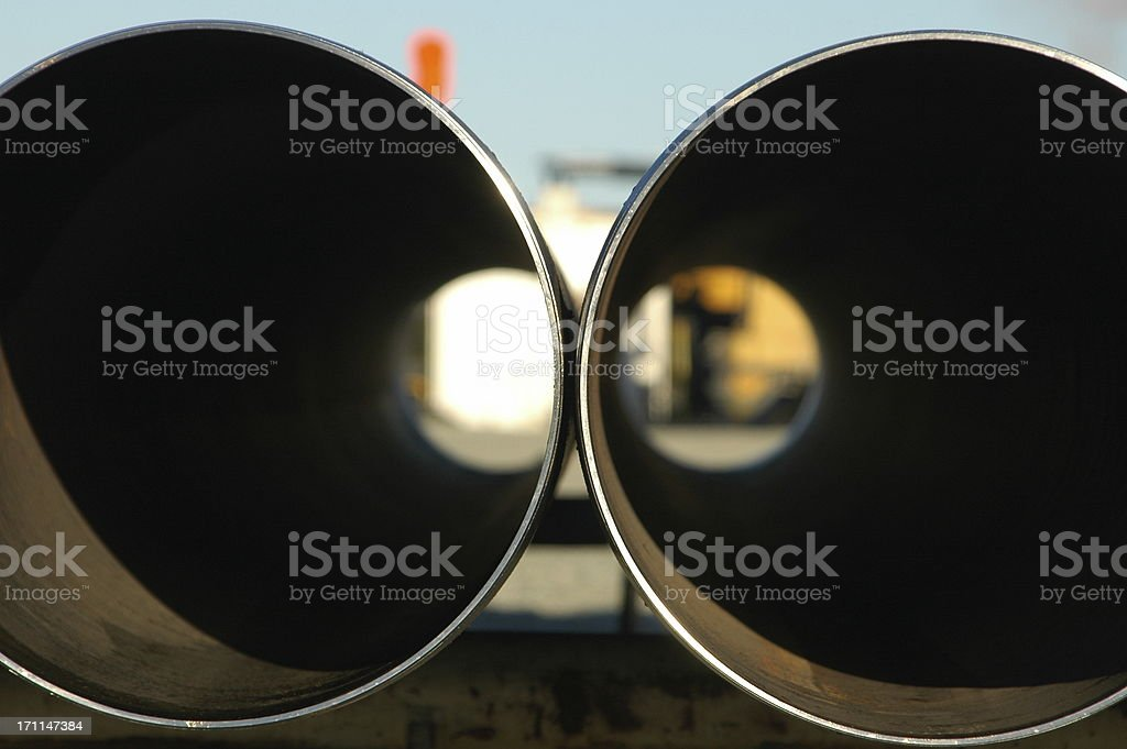 Industrial - Pipe royalty-free stock photo