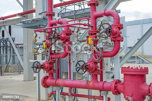 istock Industrial pipeline 536901794