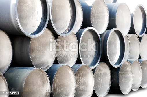 Industrial Pipes in the Stack