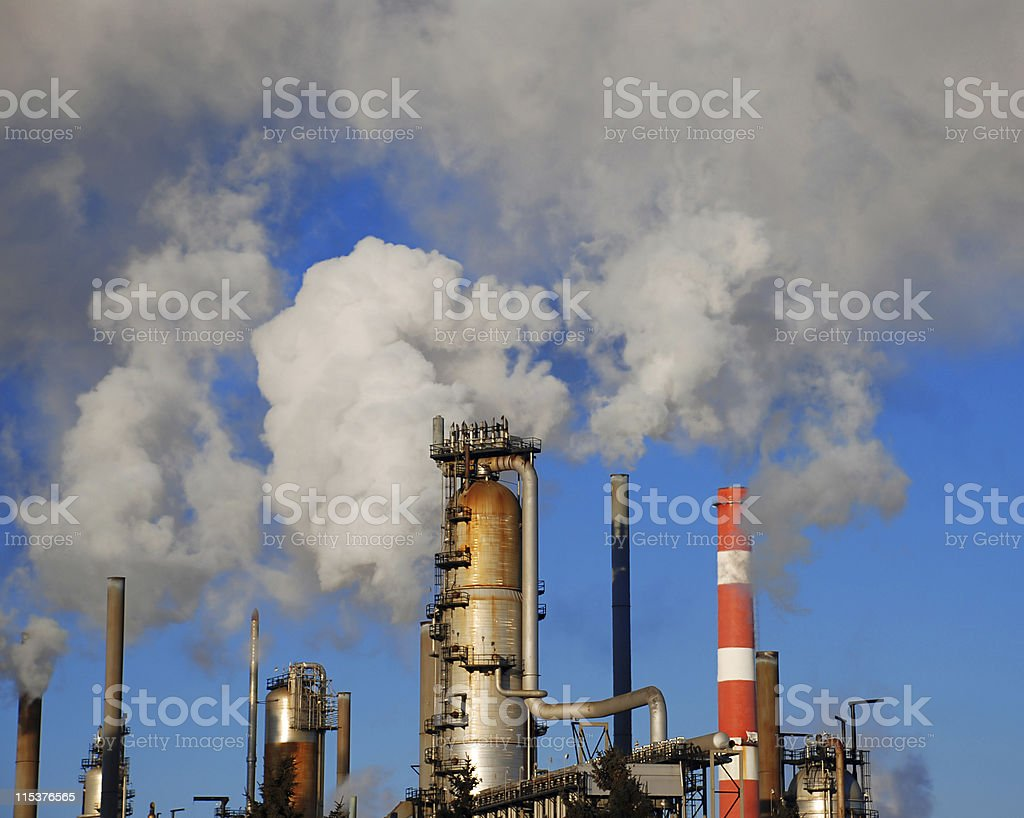 industrial pipes royalty-free stock photo