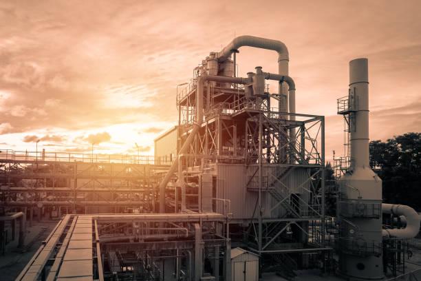 산업 플랜트 - 석유 화학 공장 뉴스 사진 이미지