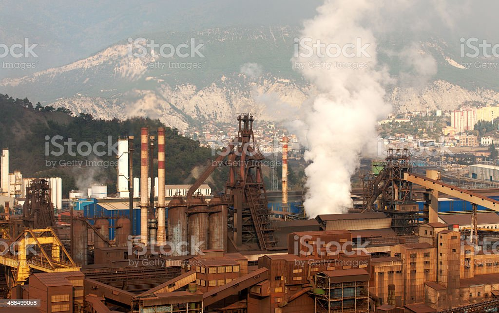 industrial Pollution in the City