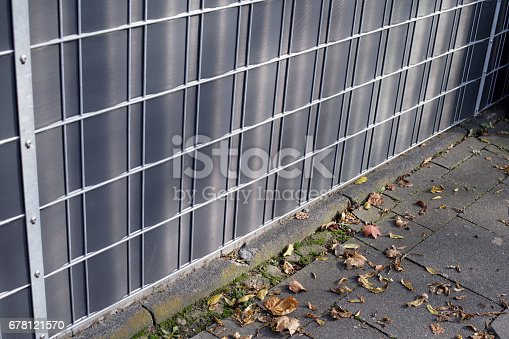 istock Industrial Protective fences 678121570
