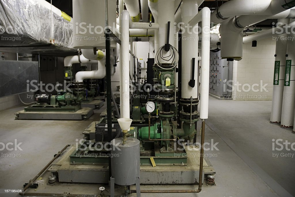 Industrial Pumps royalty-free stock photo