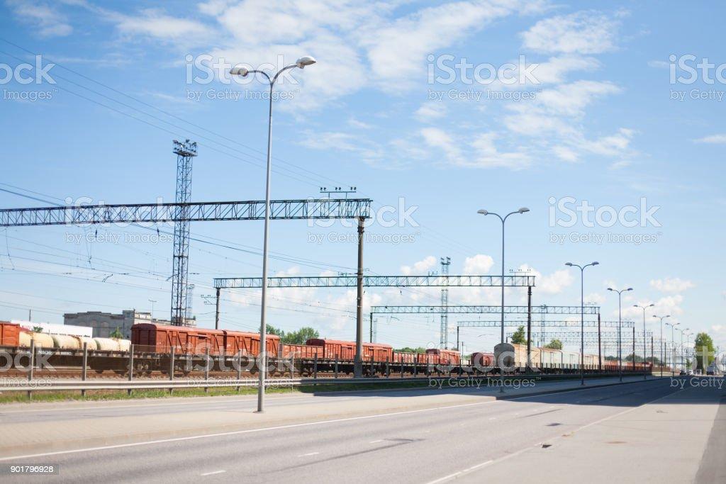 Industrial railway – Foto