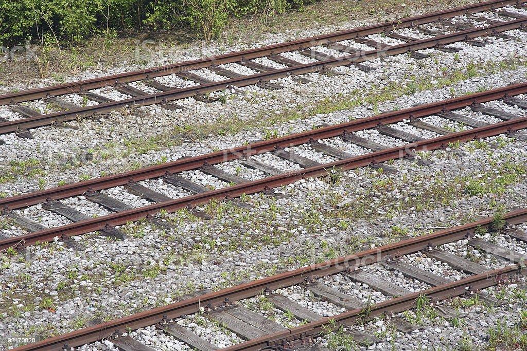 Industrial Railways royalty-free stock photo