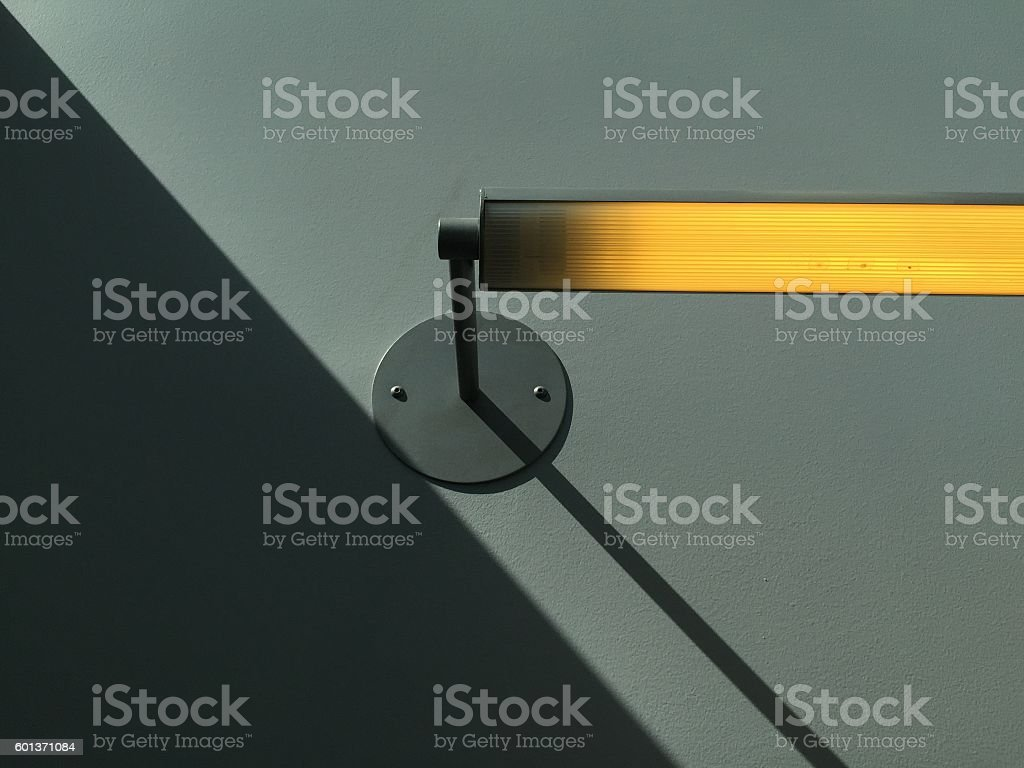 Industrial reading light on wall - sconce - Photo