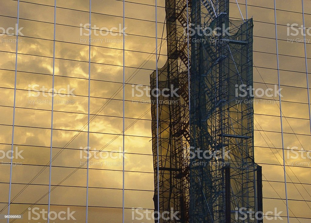 Industrial Reflection - Royalty-free Architecture Stock Photo