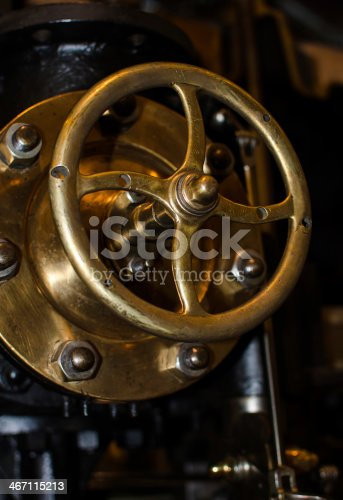 Control wheel of an industrial machine