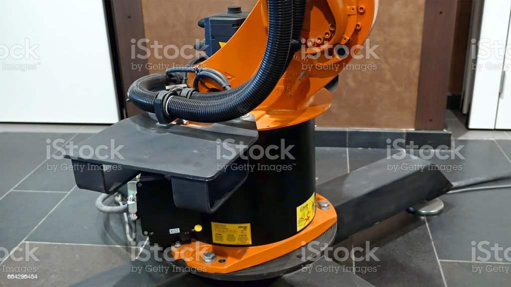Industrial Robot Arm For Welding And Assembling Stock Photo Download Image Now Istock