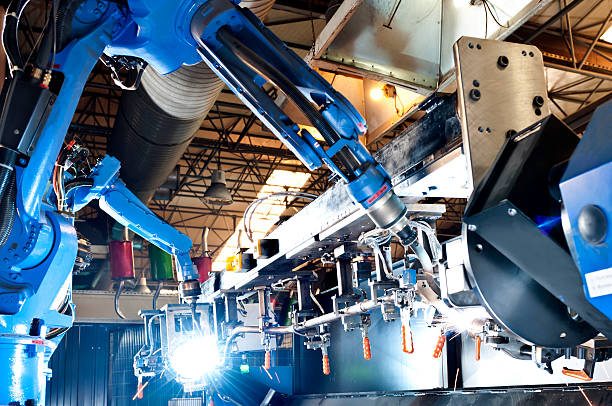 Industrial Robot Industrial Robot machinery stock pictures, royalty-free photos & images