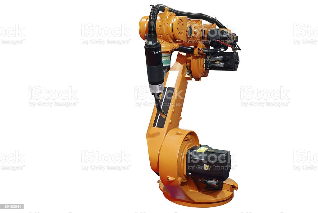 Industrial Robotic Arm Stock Photo - Download Image Now