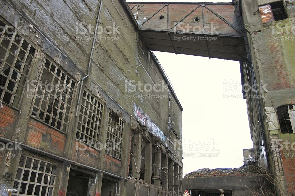 Industrial ruin #2 royalty-free stock photo